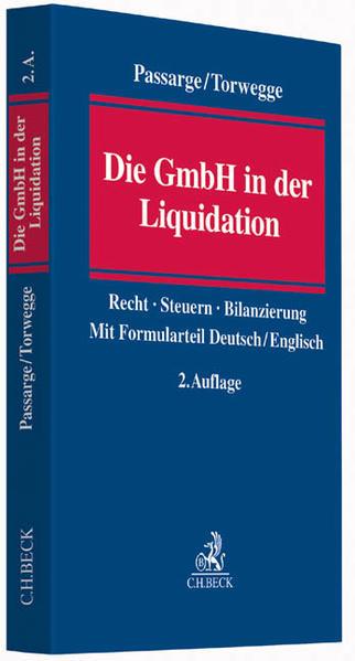 Die GmbH in der Liquidation - Coverbild