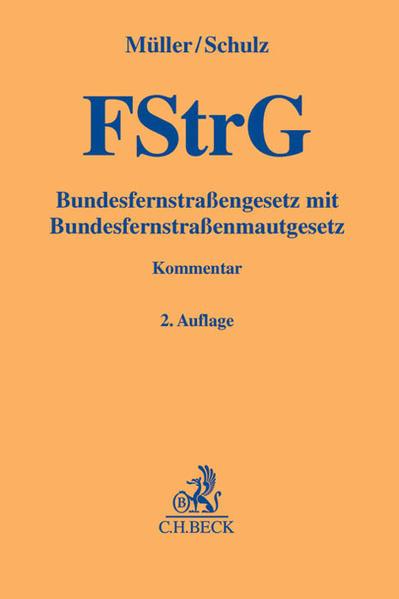Bundesfernstraßengesetz - Coverbild