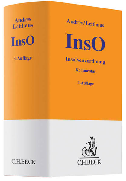 Insolvenzordnung (InsO) - Coverbild