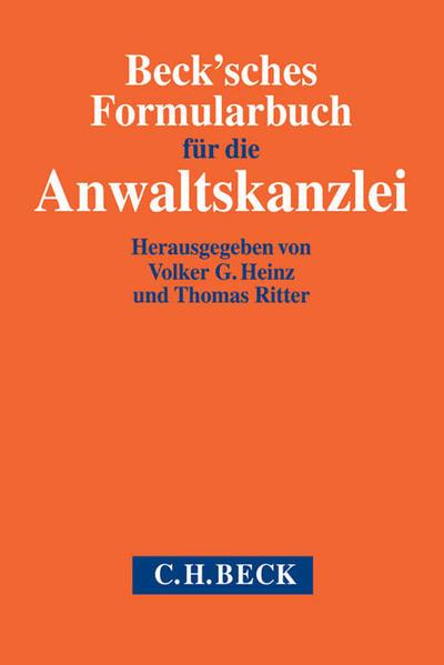 Beck'sches Formularbuch für die Anwaltskanzlei - Kostenlose Bücher für ipad 3 herunterladen