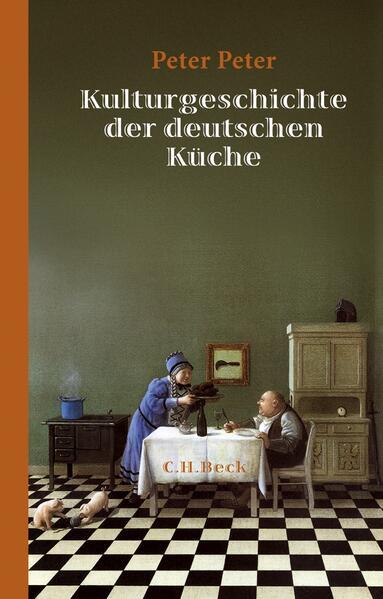Kulturgeschichte der deutschen Küche - Coverbild