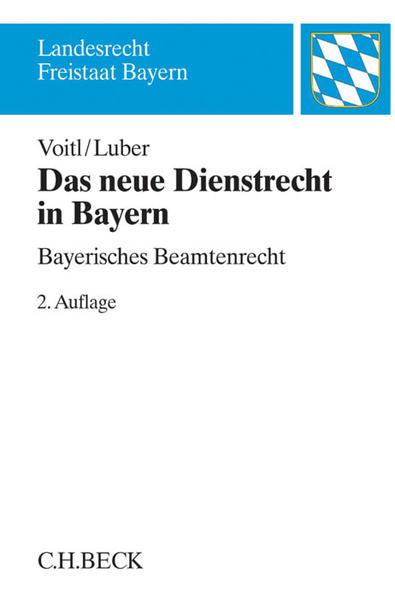 Das neue Dienstrecht in Bayern - Coverbild
