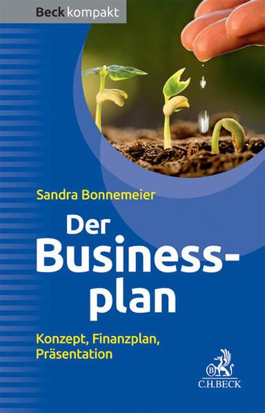 Der Businessplan - Coverbild