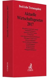 Aktuelle Wirtschaftsgesetze 2017 Cover
