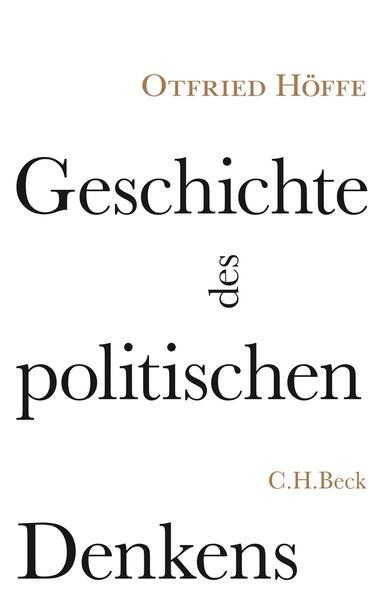 Geschichte des politischen Denkens - Coverbild