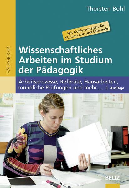 Wissenschaftliches Arbeiten im Studium der Pädagogik - Coverbild