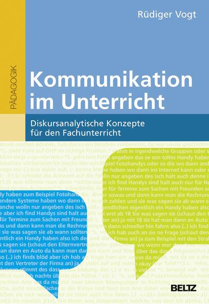 Kommunikation im Unterricht - Coverbild