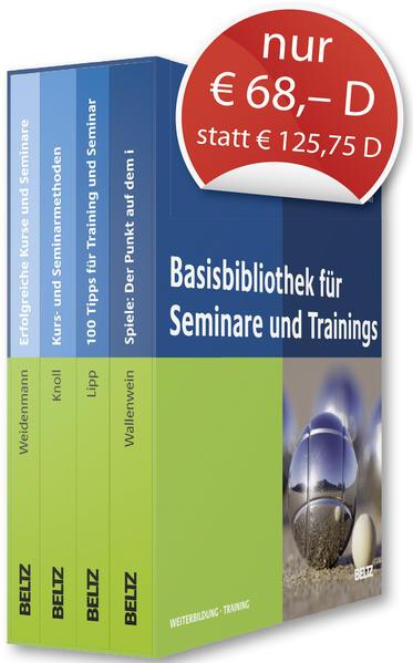 Basis-Bibliothek für Seminare und Trainings - Coverbild