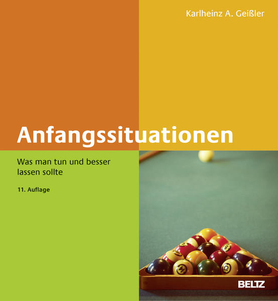 Anfangssituationen - Coverbild