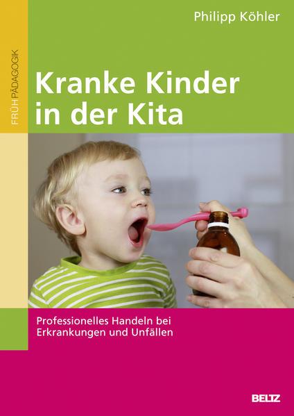 Kranke Kinder in der Kita - Coverbild