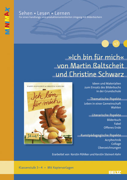 »Ich bin für mich« von Martin Baltscheit und Christine Schwarz - Coverbild