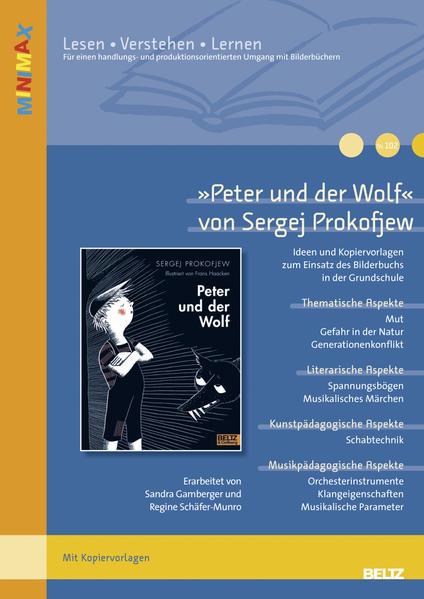 »Peter und der Wolf« von Sergej Prokofjew - Coverbild