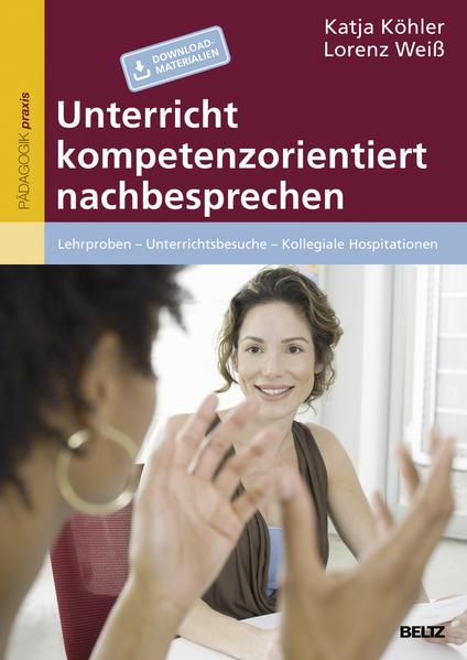 Unterricht kompetenzorientiert nachbesprechen - Coverbild