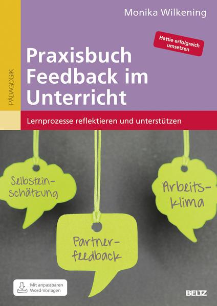 Praxisbuch Feedback im Unterricht - Coverbild