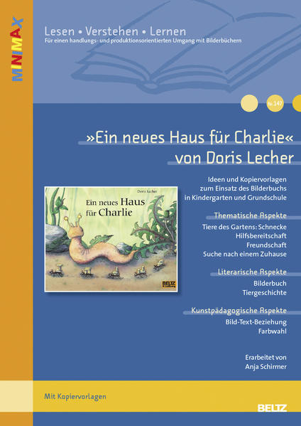 »Ein neues Haus für Charlie« von Doris Lecher - Coverbild