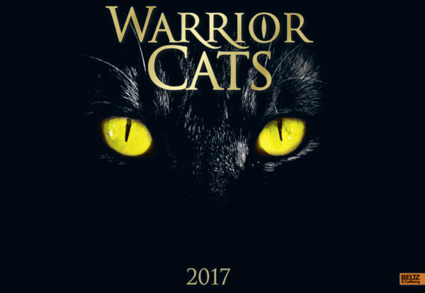 Warrior Cats - Kalender 2017 - Coverbild