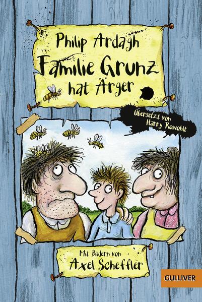 Familie Grunz hat Ärger - Coverbild