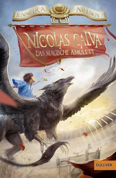 Nicolas Calva. Das magische Amulett - Coverbild