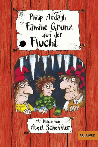 Familie Grunz auf der Flucht - Coverbild