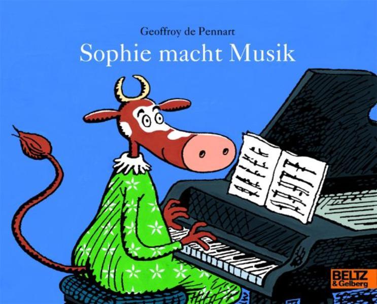 Sophie macht Musik - Coverbild