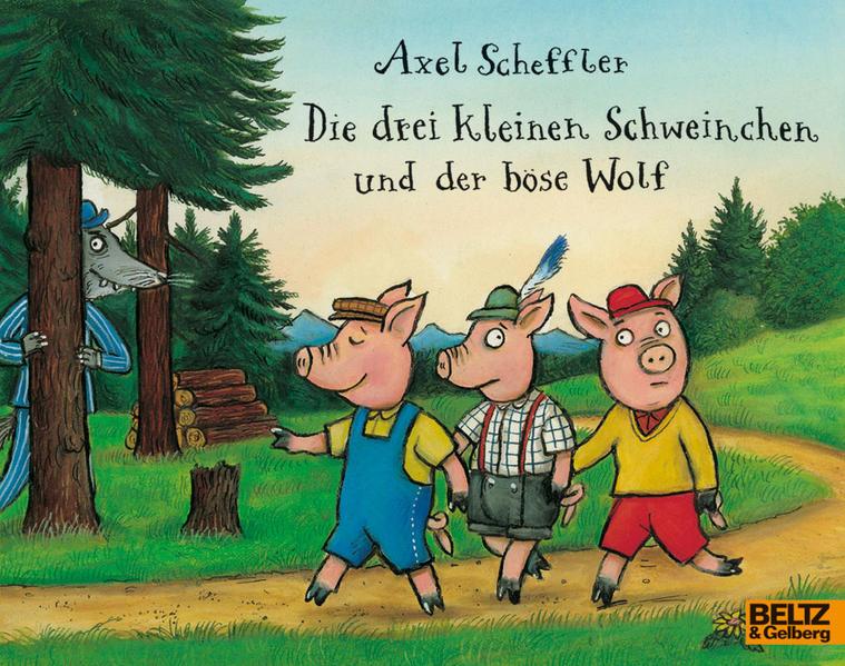 Die drei kleinen Schweinchen und der böse Wolf - Coverbild