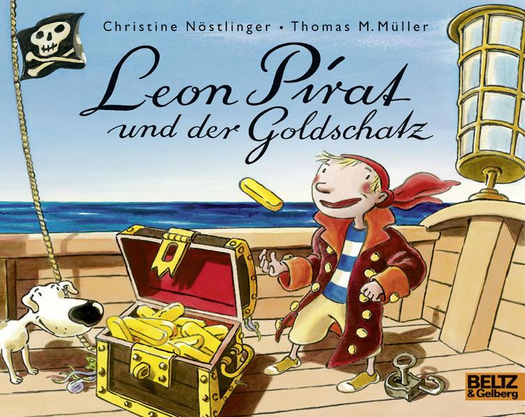 Leon Pirat und der Goldschatz - Coverbild
