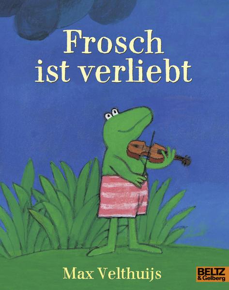 Frosch ist verliebt - Coverbild