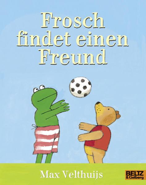 Frosch findet einen Freund - Coverbild