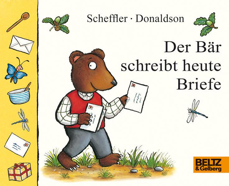 Der Bär schreibt heute Briefe - Coverbild