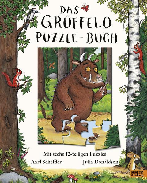 Das Grüffelo-Puzzle-Buch - Coverbild