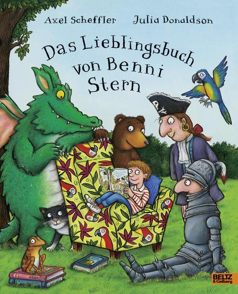 Das Lieblingsbuch von Benni Stern - Coverbild