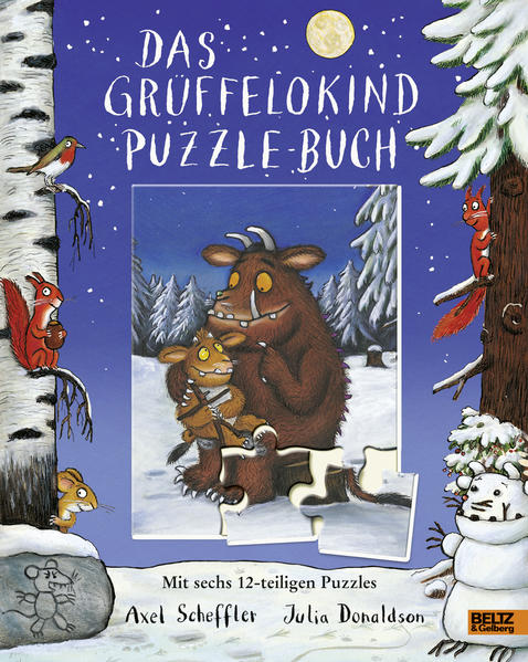 Das Grüffelokind-Puzzle-Buch - Coverbild