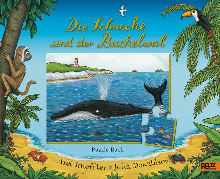 Die Schnecke und der Buckelwal Puzzle-Buch - Coverbild