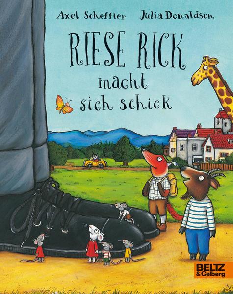 Riese Rick macht sich schick - Coverbild