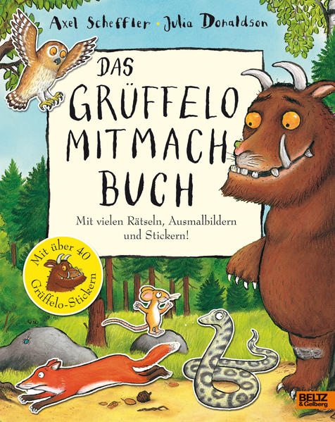 Das Grüffelo-Mitmachbuch - Coverbild