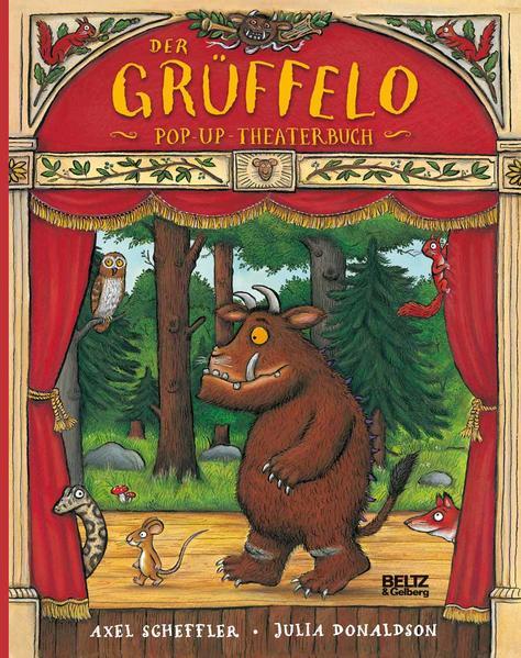 Der Grüffelo. Pop-up-Theaterbuch - Coverbild