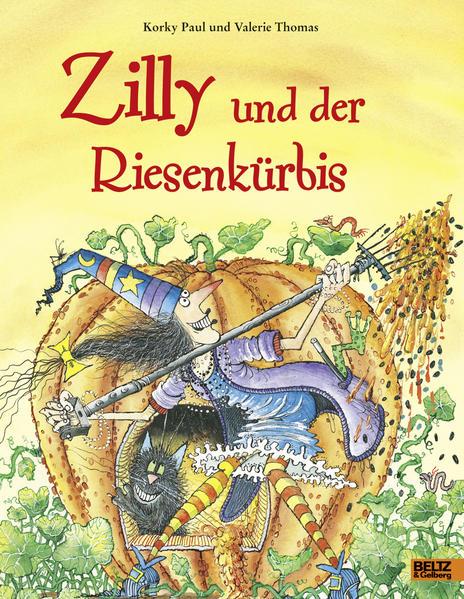 Zilly und der Riesenkürbis - Coverbild