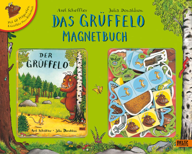 Das Grüffelo Magnetbuch - Coverbild