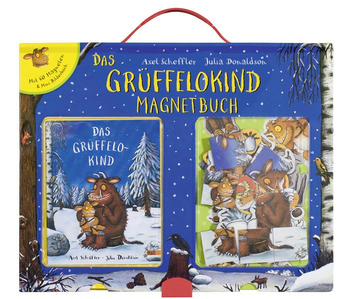 Grüffelokind Magnetbuch - Coverbild