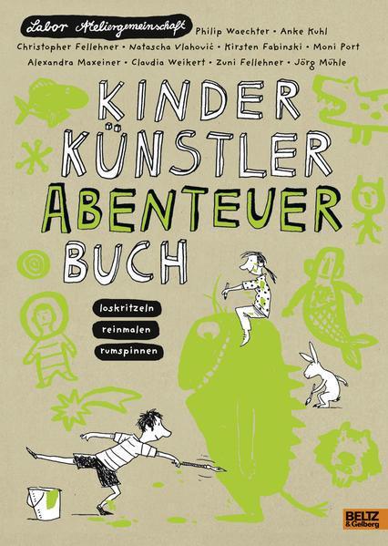 Kinder Künstler Abenteuerbuch - Coverbild