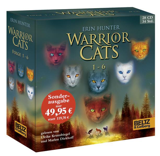 Warrior Cats 1-6 - Coverbild
