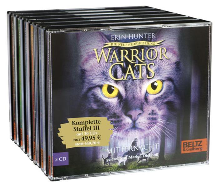 Warrior Cats - Die neue Prophezeiung. Folge 1-6 - Coverbild