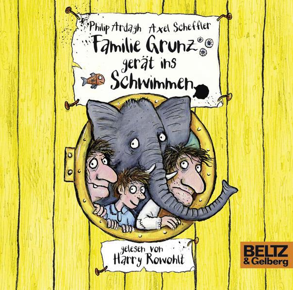 Familie Grunz gerät ins Schwimmen - Coverbild