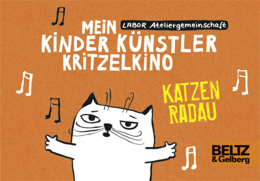 Mein Kinder Künstler Kritzelkino. Katzenradau - Coverbild