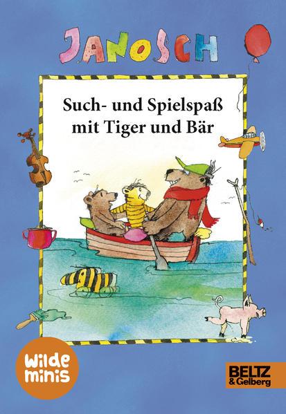 Such- und Spielspaß mit Tiger und Bär - Coverbild