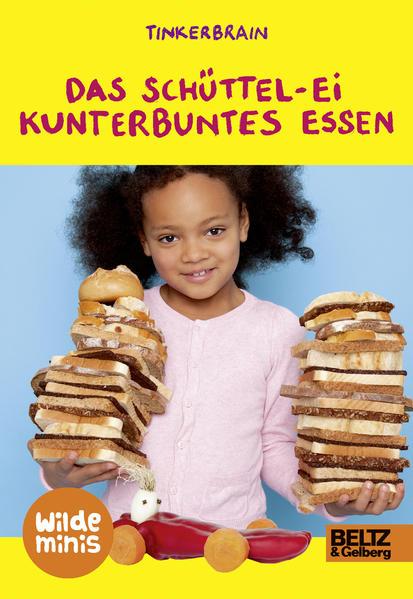 Das Schüttel-Ei. Kunterbuntes Essen - Coverbild