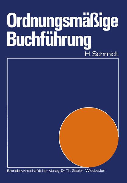 Ordnungsmäßige Buchführung - Coverbild