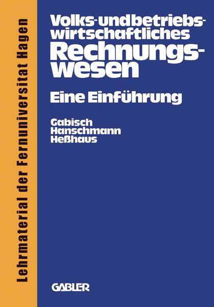 Volks- und betriebswirtschaftliches Rechnungswesen - Coverbild