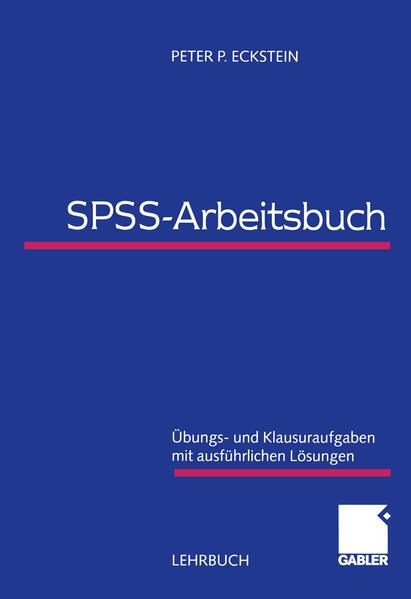 SPSS-Arbeitsbuch - Coverbild
