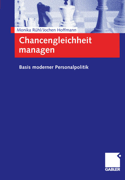 Chancengleichheit managen - Coverbild